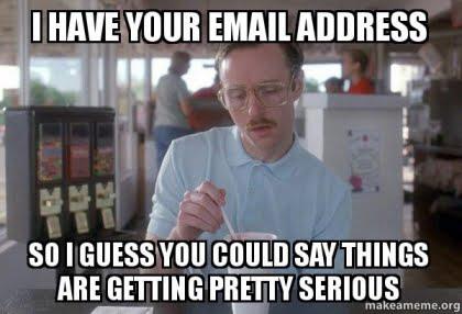 lead magnet email signup meme