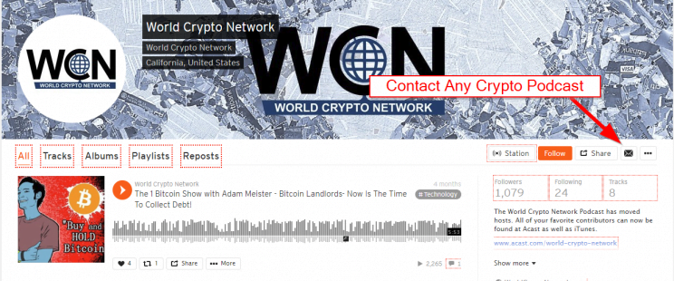 Contact Crypto Podcasts