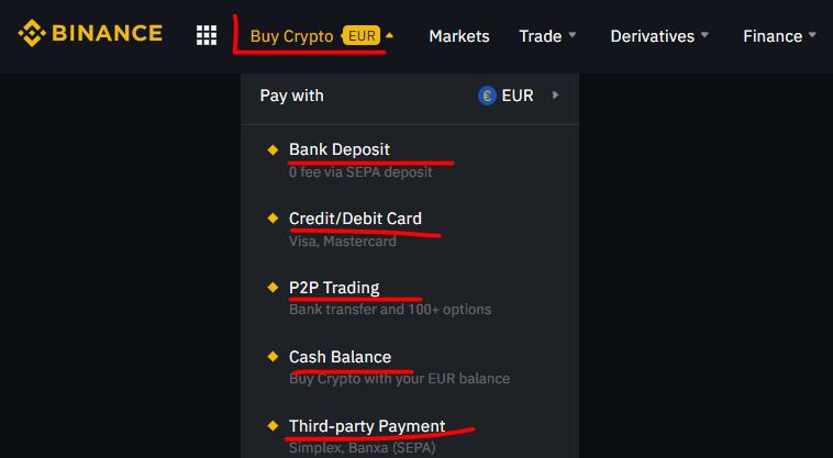 purchase BTC